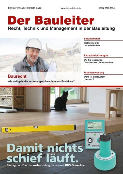 Ausgabe September 2015<br>Baurecht