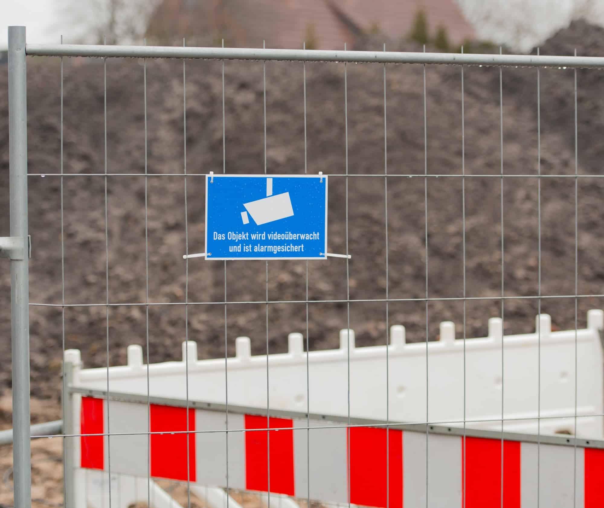 Baubetrieb: Gebäudesicherung