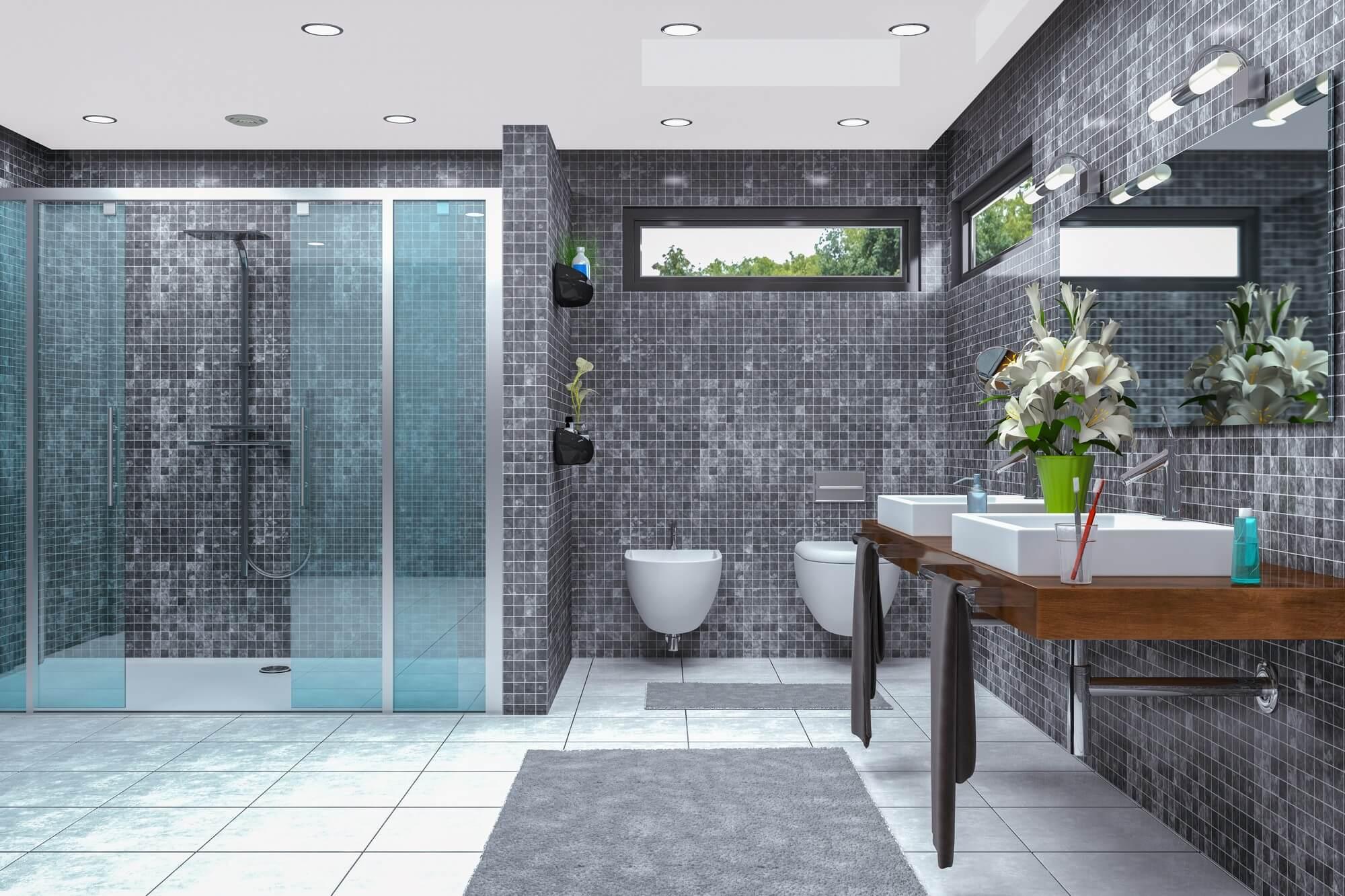 Abdichtung nach DIN 18534: Bodengleiche Duschen